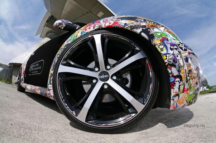 Креативный Volkswagen New Beetle (13 фото)