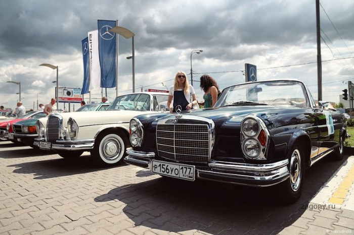 Mercedes-Benz Classic Day в Москве (30 фото)