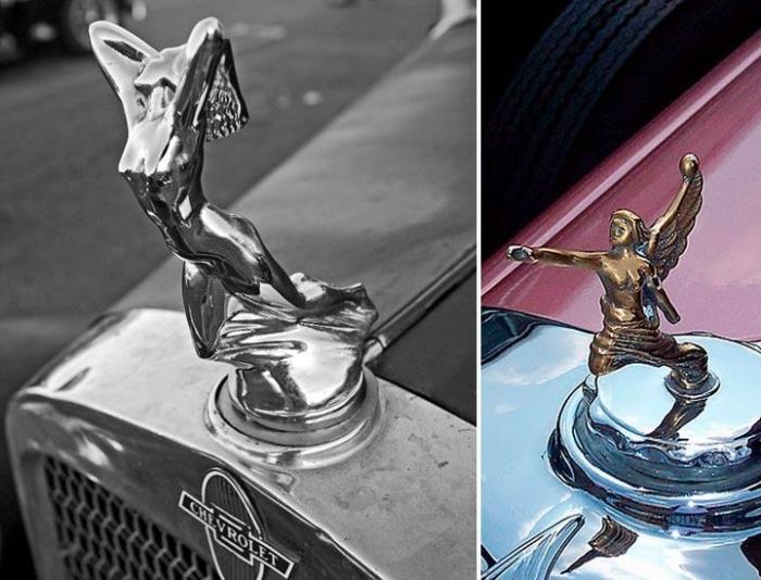 Автомобильные эмблемы на капотах (33 фото)