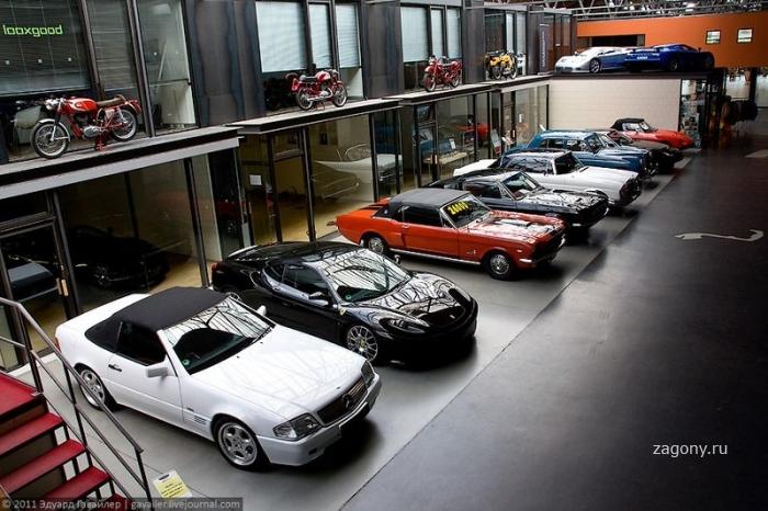 Уникальный гаражно-выставочный комплекс Майленверк (36 фото)