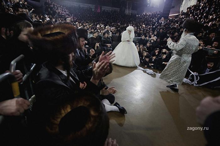 Свадьба еврейских ортодоксов (10 фото)