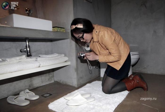 Гостиничный шпион (18 фото)