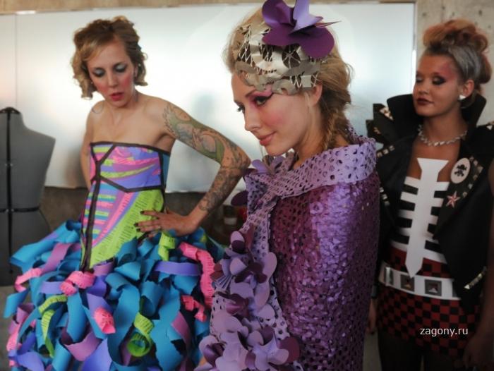 Шоу Бумажной Моды (40 фото)