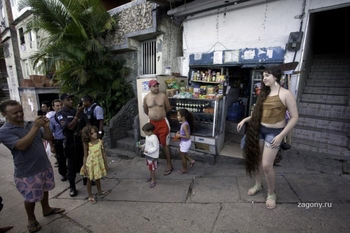 Бразильская Рапунцель (8 фото)