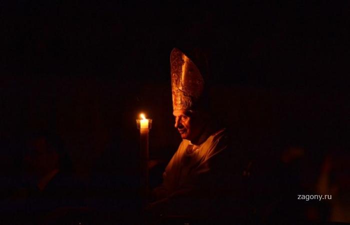 Празднование католической Пасхи (25 фото)
