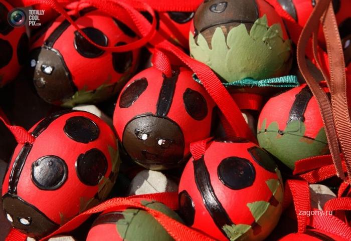 Пасхальные яйца разных стран (32 фото)