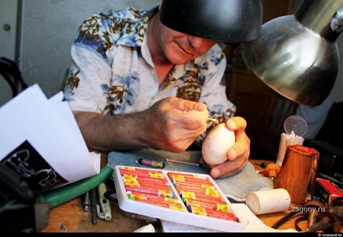 Хобби гравировка на яйцах (23 фото)