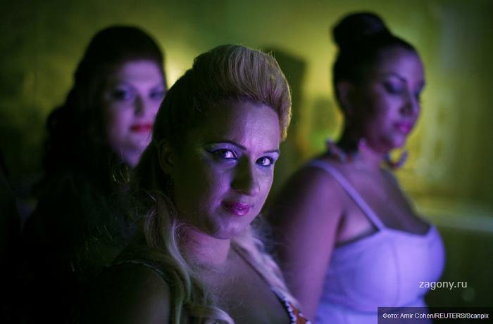 """Израильский конкурс """"Толстые и красивые"""" 2012 (15 фото)"""