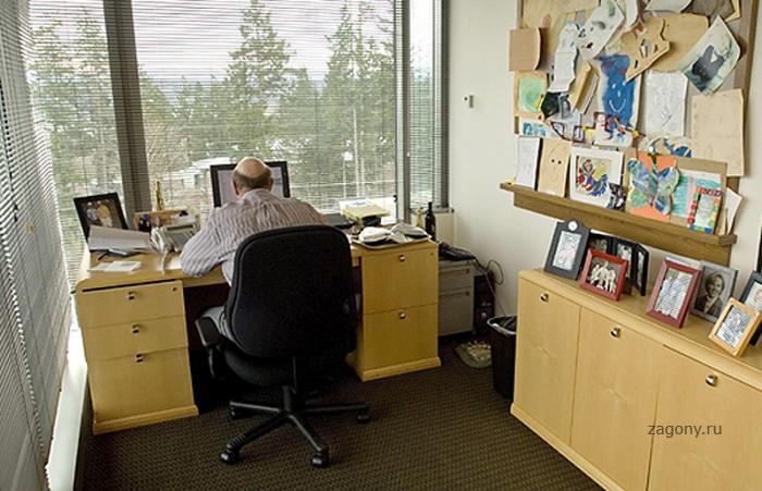 Рабочие столы Джобса, Гейтса, Баллмера, Цукерберга и других (9 фото)