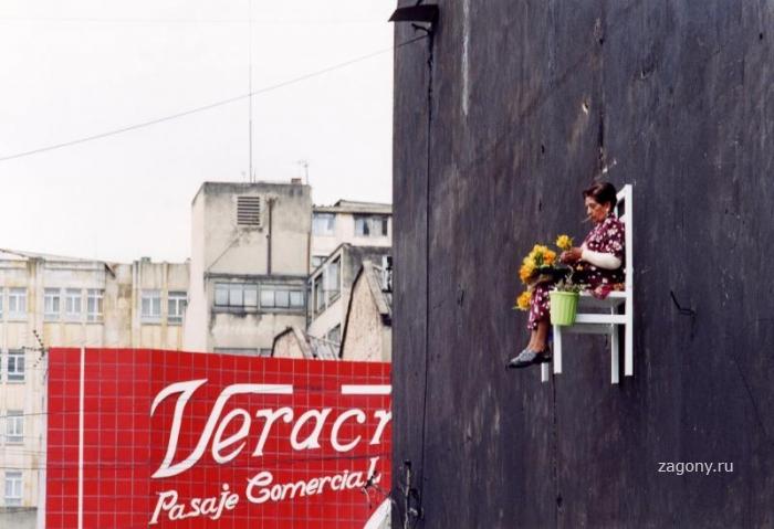 Старички над улицами Монреаля (10 фото)