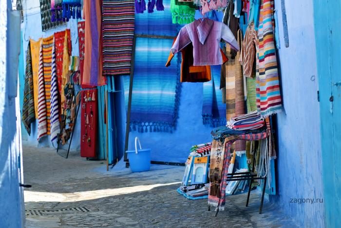 Марокканский голубой город Шефшауен (43 фото)