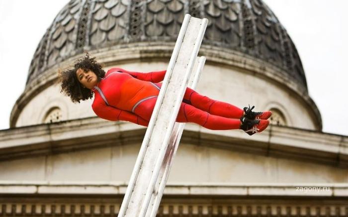 Трюки на улицах Лондона (15 фото)