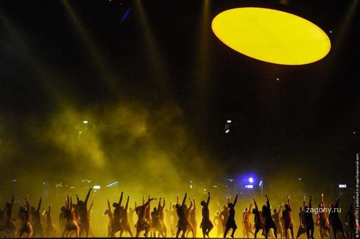 Открытие XXX Олимпийских Игр (34 фото)