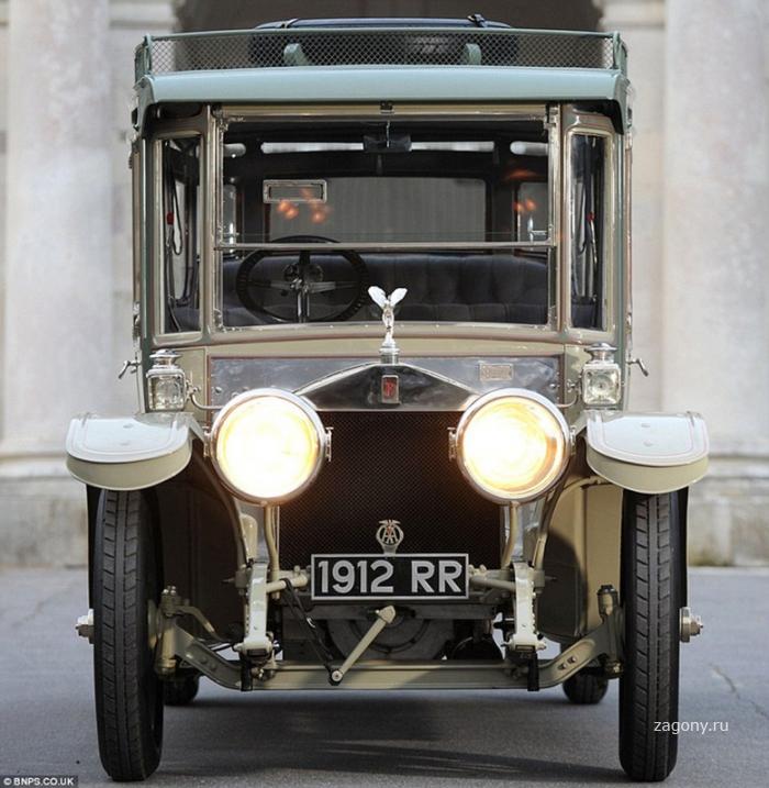 Легендарный Rolls-Royce 1912 года продали почти за шесть миллионов евро (8 фото)