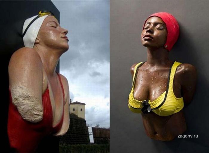 Кэрол А. Фойерман – гиперреалистичный скульптор (12 фото)