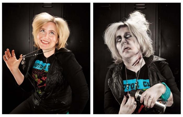 Тату-фотографии и зомби-преобразования Брайана Каммингса (36 фото)