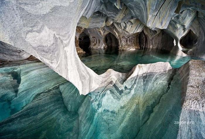 Мраморные пещеры (11 фото)