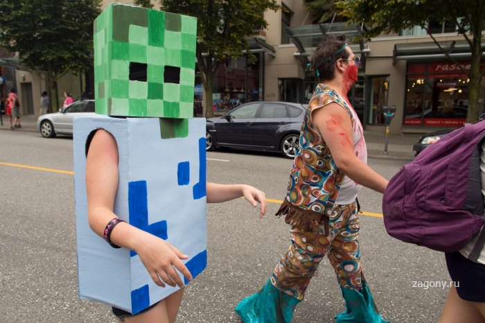 Zombie Walk 2012 в Ванкувере (15 фото)