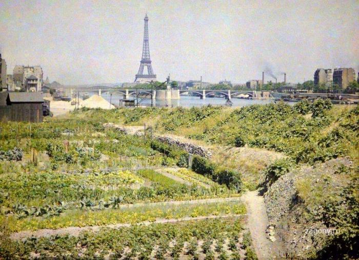Цветные снимки Парижа начала прошлого века (25 фото)