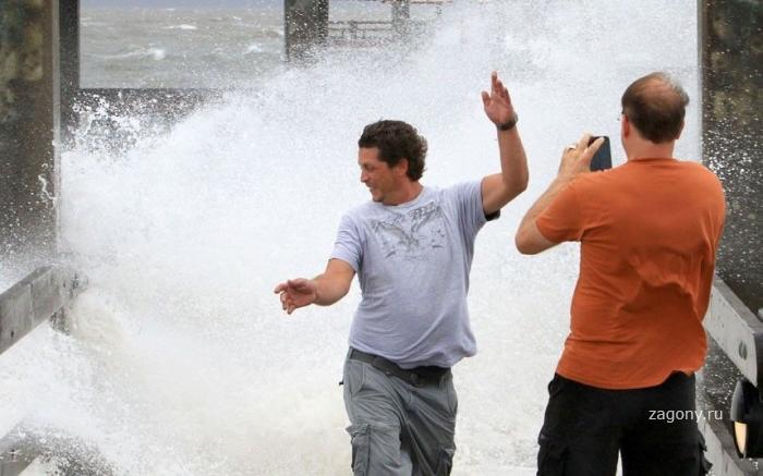 Ураган добрался до США (37 фото)