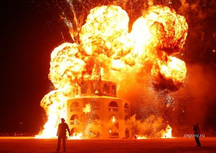 Фестиваль «Burning Man 2012» (30 фото)