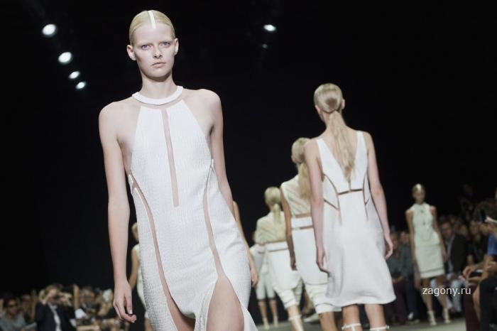 Неделя моды в Нью-Йорке (22 фото)