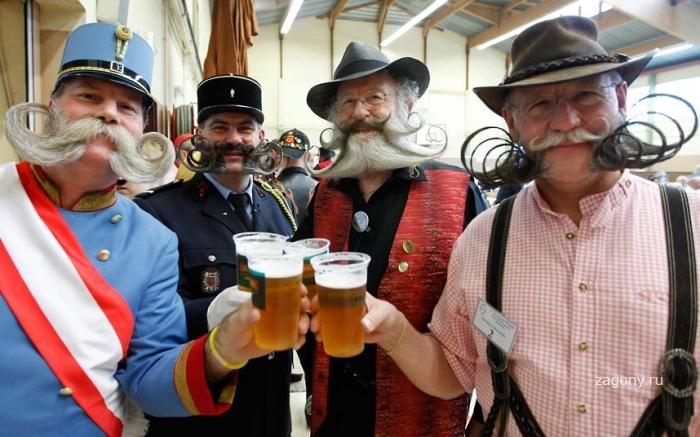 Конкурс усов и бород во Франции (18 фото)