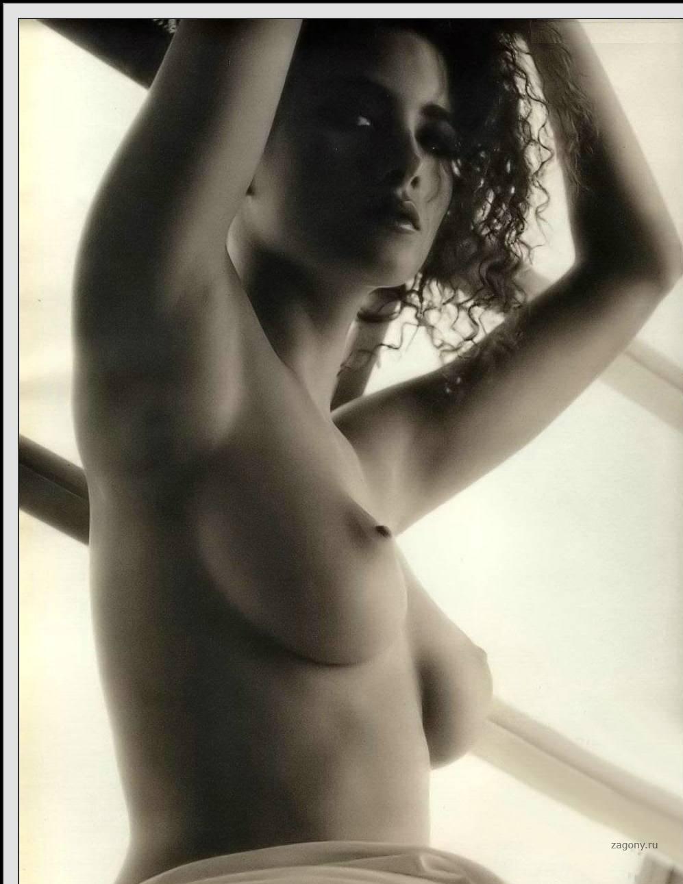 Almost naked randi ingerman nuda sexy girls boobs