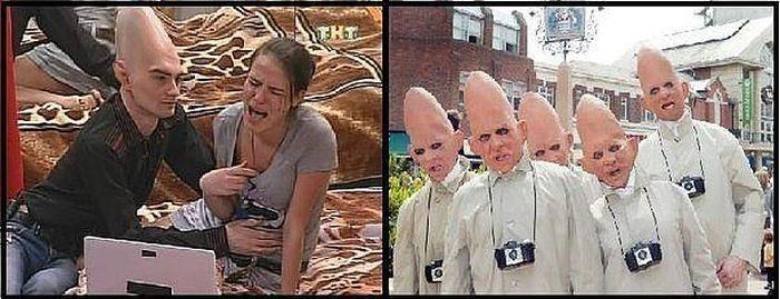 Смешные картинки про участников дом-2