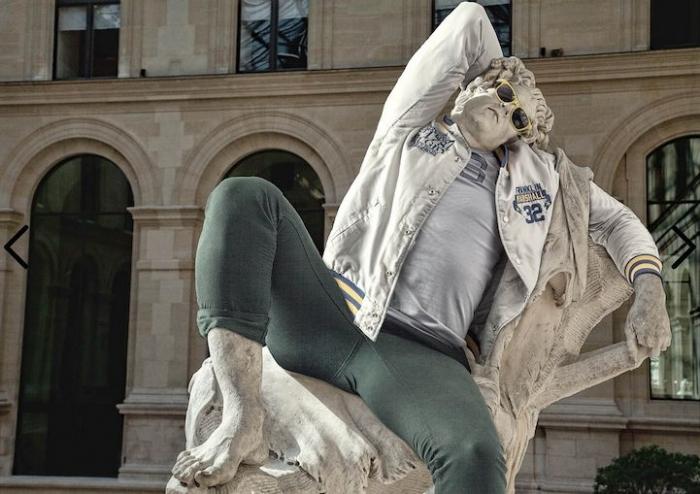 Если бы античные статуи были хипстерами (5 фото)