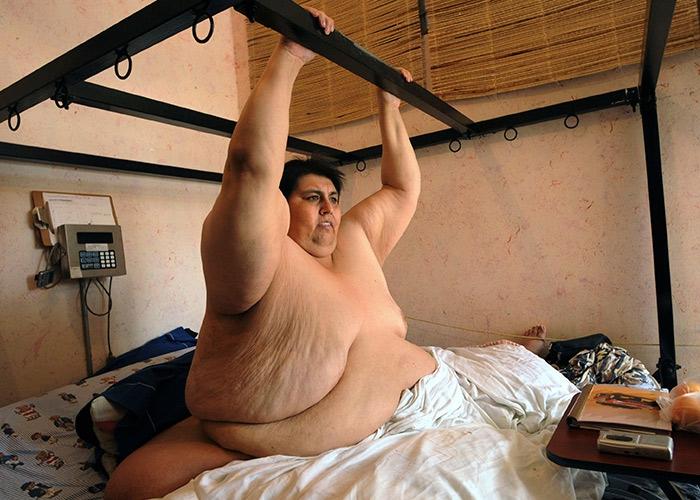 Картинки самый толстый человек в мире фото