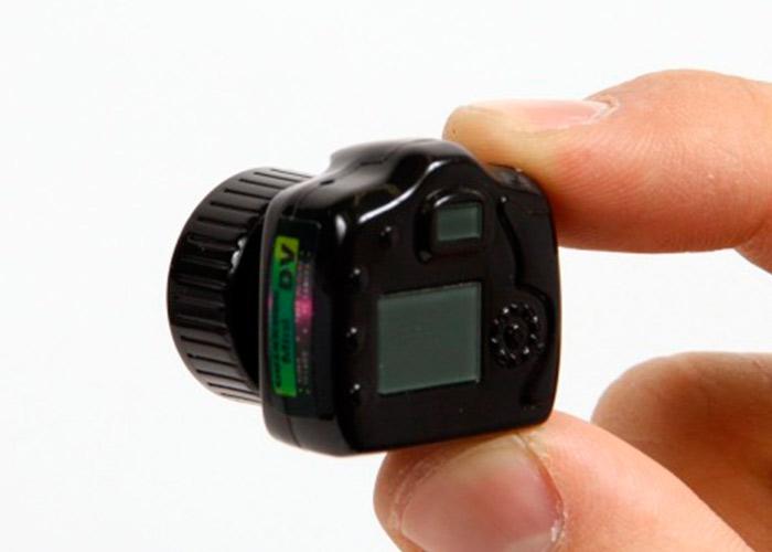 Самая маленькая камера в мире