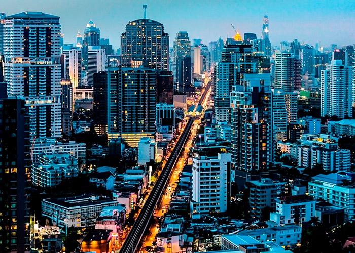 Таиланд улица красных фонарей