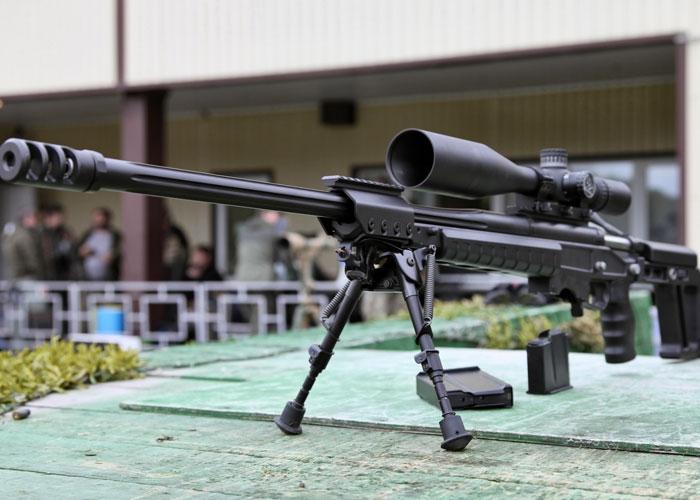 Снайперская винтовка большого калибра «AS 50».