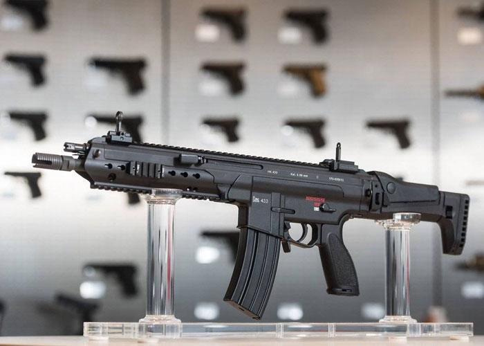 Стрелковое автоматическое оружие «НК 416 А5»