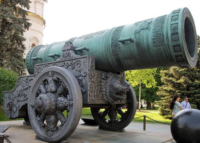 Царь-пушка История кратко для детей 1-2 класса